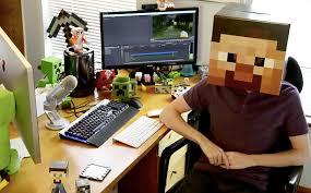 Stampy S Bedroom by Go Inside The World Of Minecraft Hero Stampylonghead Ew Com