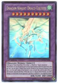 Yu Gi Oh Duelist Revolution Single Dragon Knight Draco Equiste Ghost Rare