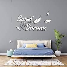 3d wandtattoo schlafzimmer aus holz mit dem spruch sweet dreams in verschieden farben große m 45cm x 80cm sprüche für wohnzimmer oder