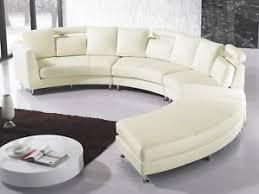 canape disign canapé en cuir sofa en cuir canapé rond blanc canapé design ebay