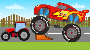 Disney Lightning McQueen Truck   Monster Truck - Disney Zygzak McQueen