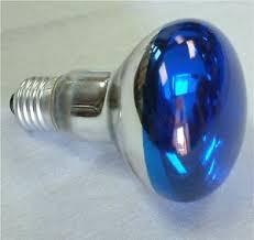 60 watt small flood light bulb l blue recessed fits dj chaser