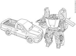 Dessin De Coloriage Transformers À Imprimer Cp26405 Avec Dessin De