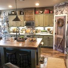 30 Rustic Farmhouse Kitchen Decor Ideas HomeyLife