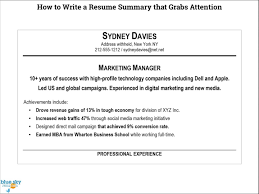 How To Write A Resume Summary | Resume & Cover Letter | Resume ... How To Write A Functional Resume With Sample Rumes Wikihow Phomenal To Good Summary That Grabs Attention Of Your Computer Proficiency 8 Steps Unique Up A Professional Examples How Write Personal Summary For Rumes Tacusotechco Best Personal Assistant Example Livecareer 50 Samples New Atclgrain The Most Important Thing On Executive Writing Goodme In Beginners Guide Covering Skills