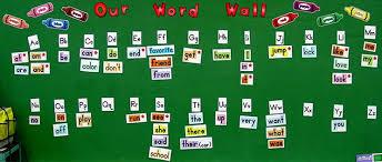 3 Word Walls