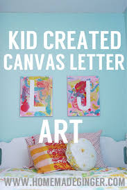 For An Easy Art Project Kids Have Them Make These Fun And Colorful Letter