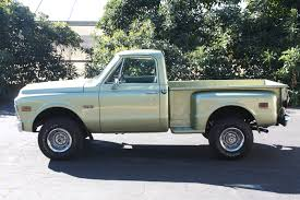 100 Chevy Stepside Truck For Sale 1972 Gmc For Best Of 1972 Gmc K 10 Short Bed Step
