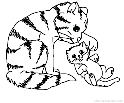 Free Printable Kitten Coloring Pages Pdf