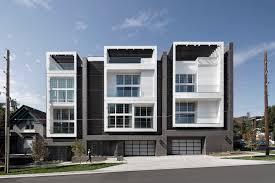 100 Townhouse Facades Denver Development Features Facades With A Brick Veneer