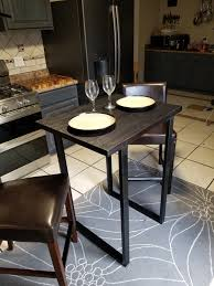 Gorgeous Charred Oak High Top Dining Table. Perfect For Small Spaces ... Belfort Essentials Abaco 54 Square Solid Acacia Wood Top Counter Shop Juvenile Java Mission Table With Two Chairs Set Rich Mocha Hanover Montclair 3piece Metal Outdoor Bar Height Ding Handmade Solid Oak Tall Table Two Chairs And High Stools Small Rectangular Kitchen Homesfeed High In Cheltenham Gloucestershire Gumtree 84 Off Glass Tables Coaster Fniture 102271 Tone Island Parkland 2 Item 94349 Walmart Canada Marble Matching Ayr South Winsome Lynnwood 3pc Drop Leaf Ladder Chair On Carousell