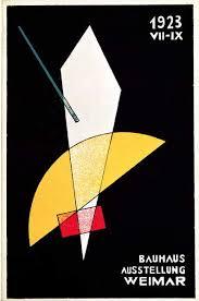 poster for a bauhaus exhibition in weimar germany berühmte kunstdrucke für deine wand