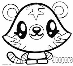 Moshi Colouring Pages 13 Printable Monsters Coloring For Kids