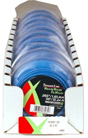 Maxpower 333065 Residential Grade Round Trimmer Line - 40' L, 0.065""