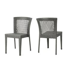 Orren Ellis Emrich Outdoor Wicker Patio Dining Chair | Wayfair Cantik Gray Wicker Ding Chair Pier 1 Rattan Chairs For Trendy People Darbylanefniturecom Harrington Outdoor Neptune Living From Breeze Fniture Uk Corliving Set Of 4 Walmartcom Orient Express 2 Loom Sand Rope Vintage Weng With Seats By Martin Visser For T Amazoncom Christopher Knight Home 295968 Clementine Maya Grey Wash With Cushion Simply Oak Practical And Beautiful Unique Cane Ding Chairs Garden Armchair Patio Metal
