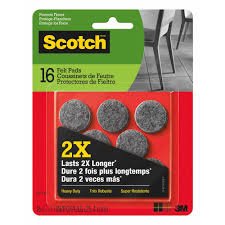 Drill In Cabinet Door Bumper Pads by Scotch The Home Depot