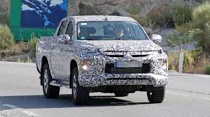 100 Mitsubishi Pickup Truck L200 Spied With A Facelifted Front Clip