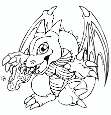 Dragon Coloring Pages For Kids To Colour