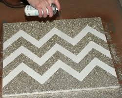 And Glitter Chevron Canvas How To Umm Yes Please Making