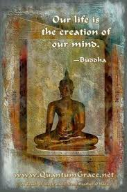 Our Life Is The Creation Of Mind Buddha