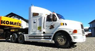 100 Rc Semi Trucks And Trailers RC ADVENTURES Ford AeroMax 114th 6X4 Truck Hauling Excavator