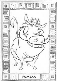 Disney The Lion King Coloring Pages Many Interesting Cliparts