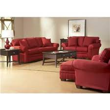 broyhill furniture zachary upholstered stationary sofa turk