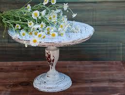12 Inch Wooden Rustic Cake Standcake Pedestal