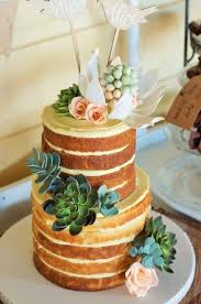 Tips For Making Naked Cake Designs On Craftsy