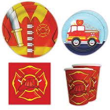 Boy Party Supplies, Fire Truck Standard Party Packs – Blue Orchards Fire Truck Birthday Banner For Firetruck Party Decorations Etsy 10 Awesome Ideas Tanner Pinterest Food Fireman Centrepiece Perfect Supplies The Journey Of Parenthood Flower Centerpieces Of Fine Whosale Globos 50pcslot 7050cm Car Balloon Fire Engine Fighter Photo Prop 94 X 64 Cm Toddler At In A Box Firefighter Adult Tablcapes Oh My Omiyage
