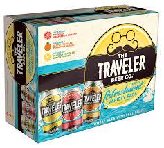 Travelers Pumpkin Beer by Jack O Traveler Origlio Beverage