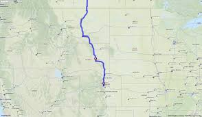 100 Truck Route Mapquest Driving Directions From Denver Colorado To Kitscoty Canada
