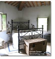 Tuscan Decorating Style For Bedrooms Part I Rustic Bedroom Design