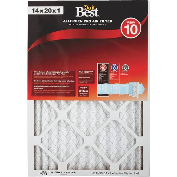 Flanders Do It Best Allergen Pro Furnace Filter (Pack of 6)