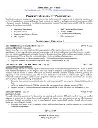 What Does A Successful Property Management Resume Sample Look Like