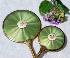 Vanity Mirror Dresser Set by 450 Best Brush Mirror Sets Images On Pinterest Mirror Mirror