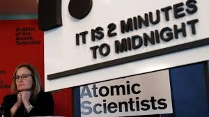 Doomsday Clock Edges Closer To Armageddon As Trumps Erratic Moves