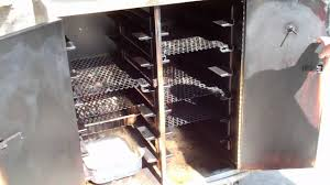 File Cabinet Smoker Plans by Commercial Food Warmer Turned Into A Charcoal Bbq Smoker Youtube
