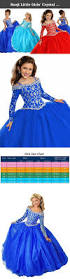 baoji little girls u0027 crystal princess ball gowns kids pageant