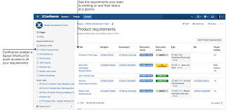 Service Desk Software Requirements by How To Document Product Requirements In Confluence Atlassian