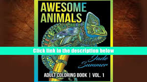 Download BookK Adult Coloring Books Awesome Animal Designs And Stress Relieving Mandala Patterns