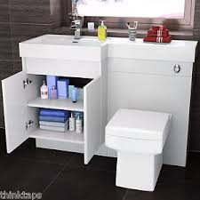 1200mm complete l shape bathroom suite with square toilet and