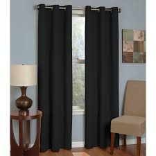 Absolute Zero Curtains Walmart by Eclipse Thermaback Microfiber Grommet Blackout Window Panel