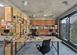 100 Home Design Architects BetweenSpaces Bangalore Studio Has Folding Steel Shutters