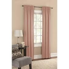 mainstays pearl blush woven room darkening set of 2 walmart com
