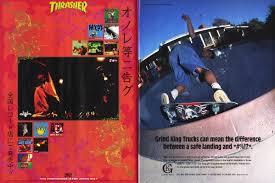 100 Grind King Trucks Thrasher Magazine March 1996