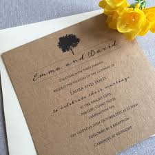 Rustic Wedding Invitations By Eaton