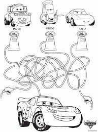 Coloring For Kids Disney Cars Pages Printable About Free