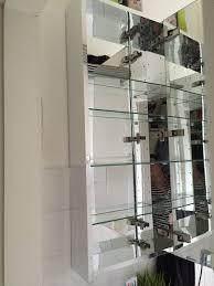 ikea badezimmer spiegelschrank godmorgon in 47799 krefeld