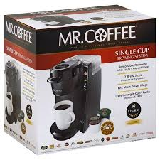 Sunbeam Products Inc Mr Coffee Single Cup Brewing System 1